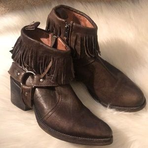 All Saints Bonny Cuban Fringe Boot